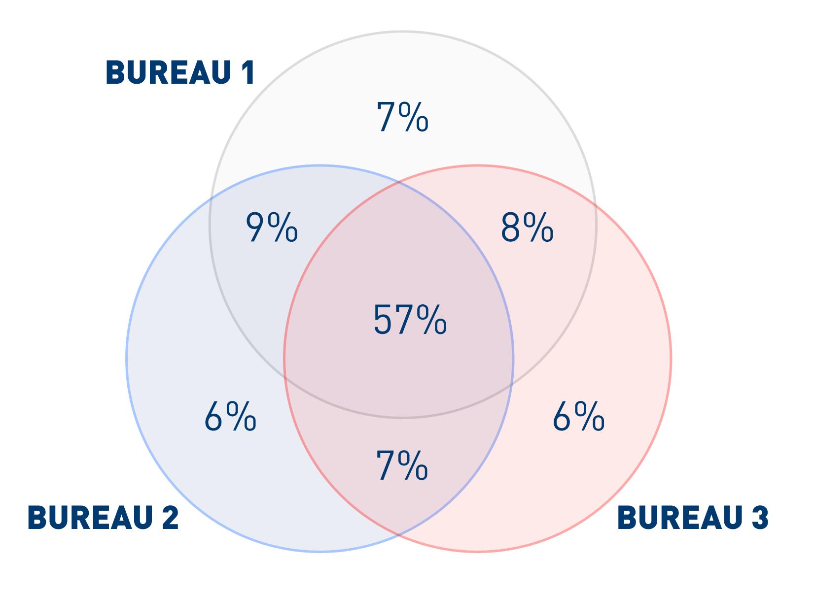 Multi Bureau Approach diagram 1